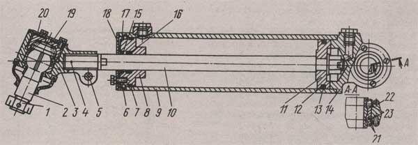 силовой цилиндр МАЗ 437040