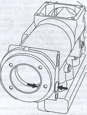 смазочные отверстия DAF 85CF