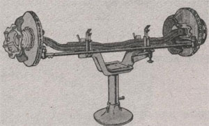 Стенд для разборки и сборки передней оси ЗиЛ 5301 Бычок