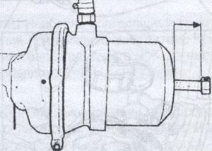 стояночный тормоз Scania P, стояночный тормоз Scania R, стояночный тормоз Scania T