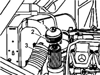 Топливный фильтр Mercedes Actros III с 2008