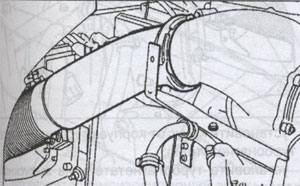трубка турбокомпаунда Volvo FH12