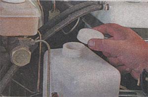 Уровень жидкости в бачке омывателя ГАЗ 3302