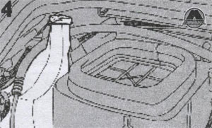 Уровень жидкости в бачке омывателя Iveco Daily