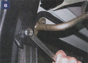 Верхнее крепление ремня безопасности ГАЗ 2217 Соболь