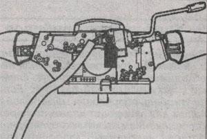 Винты крепления переключателя Volkswagen LT 28