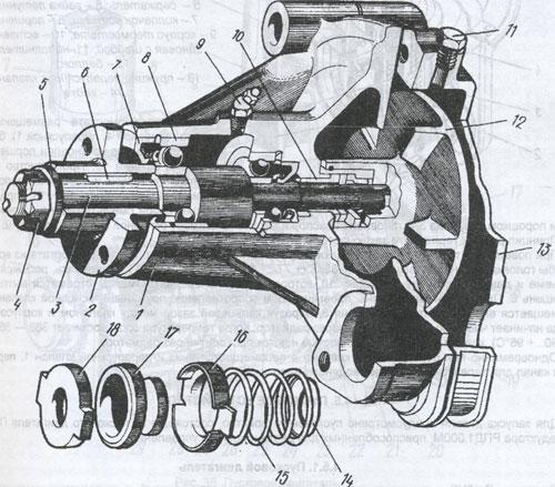 Водяной насос ДТ-75Н