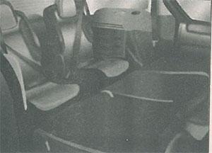 Задние сиденья Peugeot Partner