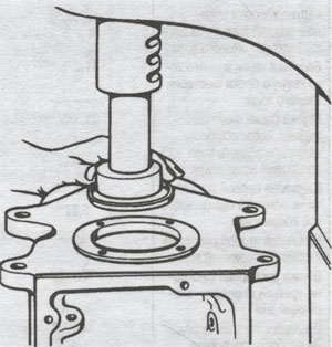 Заглушка переднего подшипника ГАЗ 3307