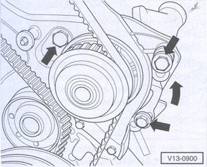 Zahnriemen VW Transporter 1990 Delius Klasing